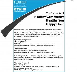 Healthy Happy Hour 10-22 Flyer