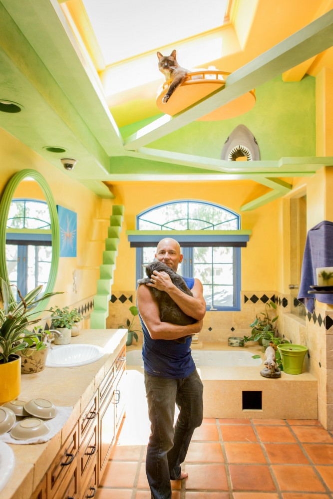 Excerpted from CATIFY TO SATISFY: Simple Solutions for Creating a Cat-Friendly Home by Jackson Galaxy and Kate Benjamin, with the permission of Tarcher Perigee/Penguin, a division of Penguin Random House. Copyright Jackson Galaxy and Kate Benjamin © 2015. Photo credit: Jeff Newton.