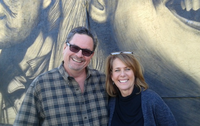 Randy and Theresa Murray of First Studio. Photo by Jill Bernstein.
