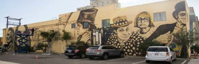 Expanded mural celebrates Phoenix television history.