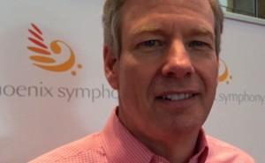 Phoenix Symphony CEO, Jim Ward. Photo by Robert Hoekman, Jr.