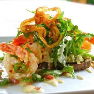 The Herb Box - Serrano Avocado Shrimp Salad