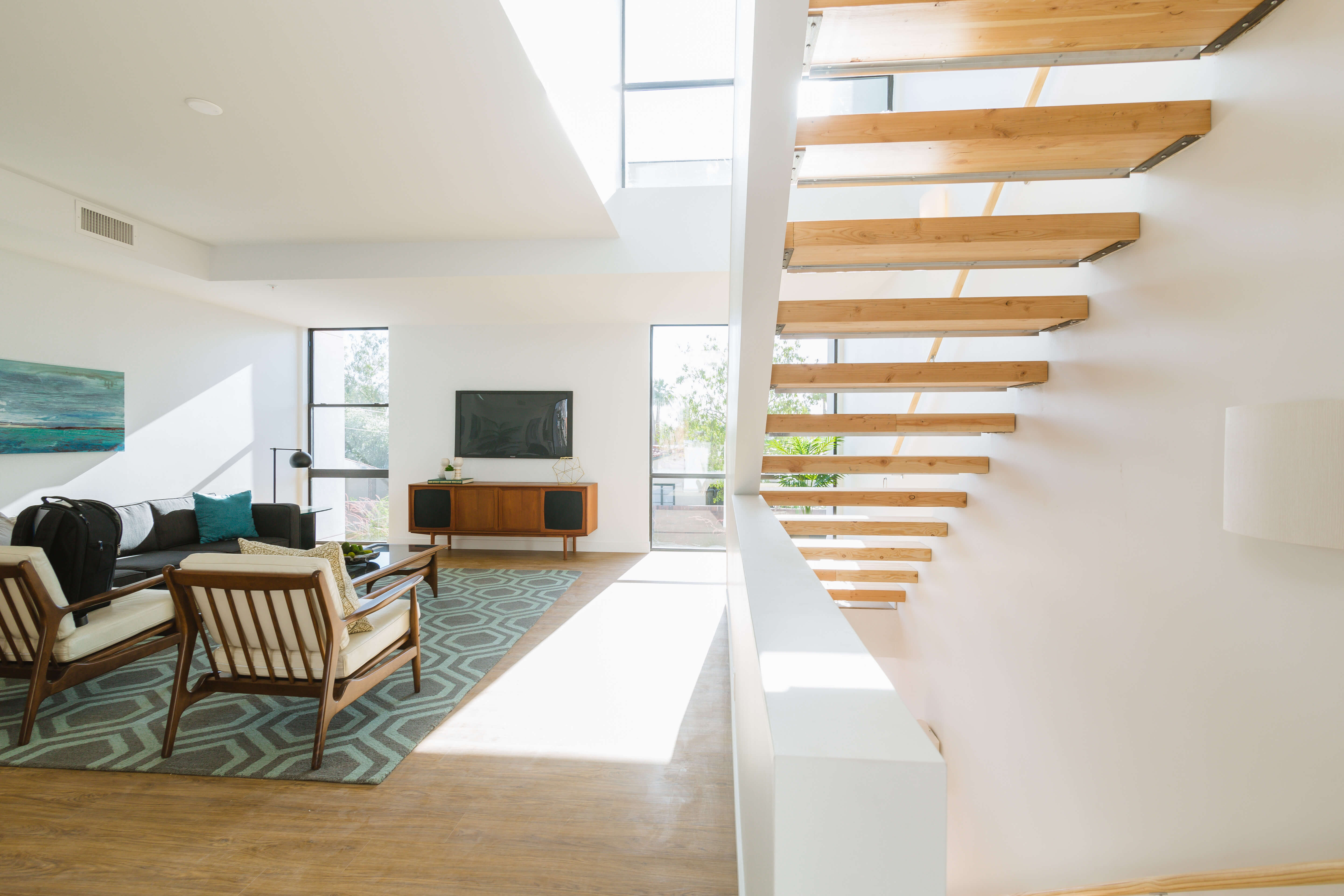 The Three Level Townhomes Exudes Warmth, Openness And Light. Image Courtesy  ArtHAUS.