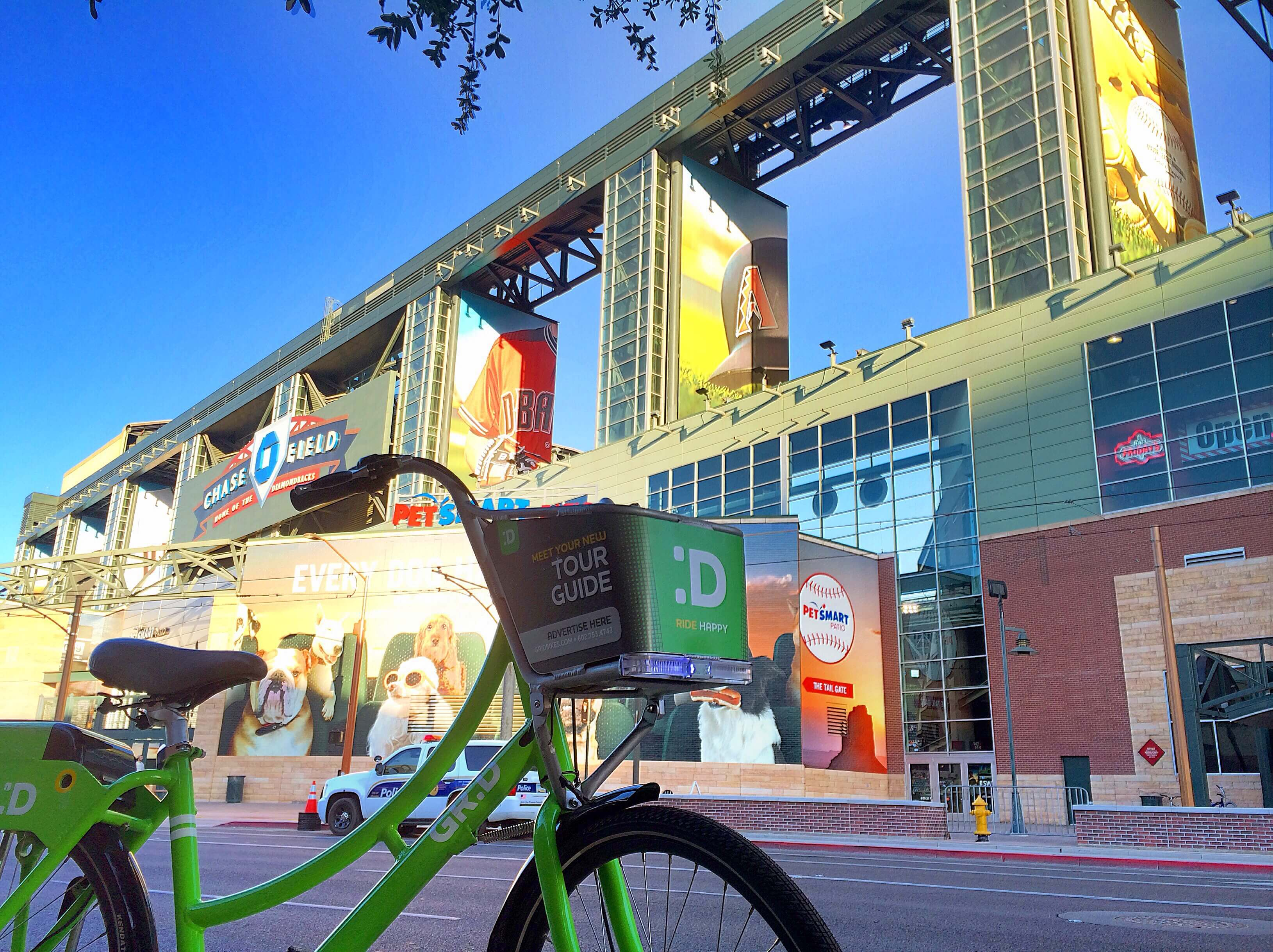 Grid Bike Share connects the people of downtown Phoenix with the places that make this city great.