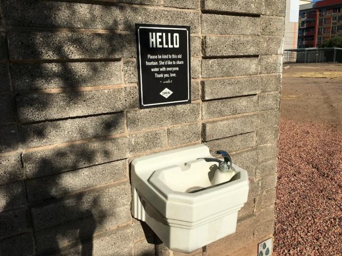 Combine Fountain