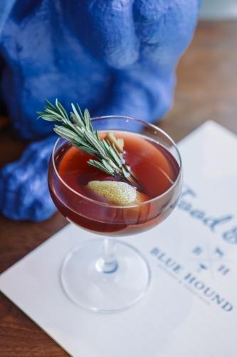 """The """"Dear Rosemary"""" cocktail."""
