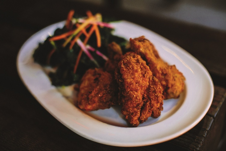 Community Night Fried Chicken entree. Courtesy of Phoenix Public Market Cafe.