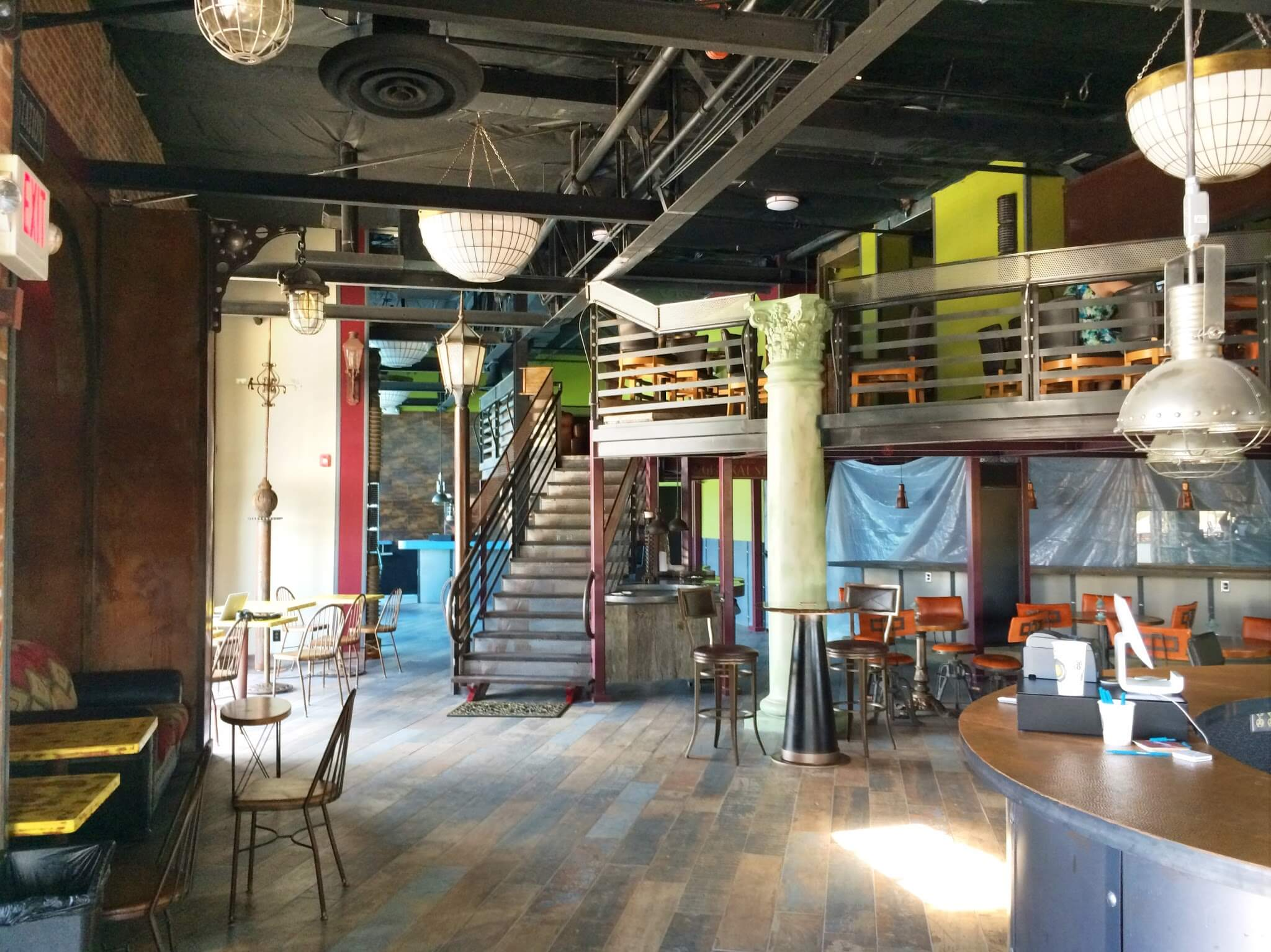 Mezzanine Cafe Shop