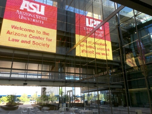 ASLC courtyard