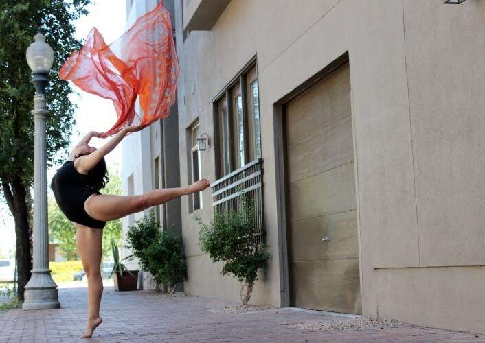 Dancer Johanna Hayes. Photo by Ashley Baker.