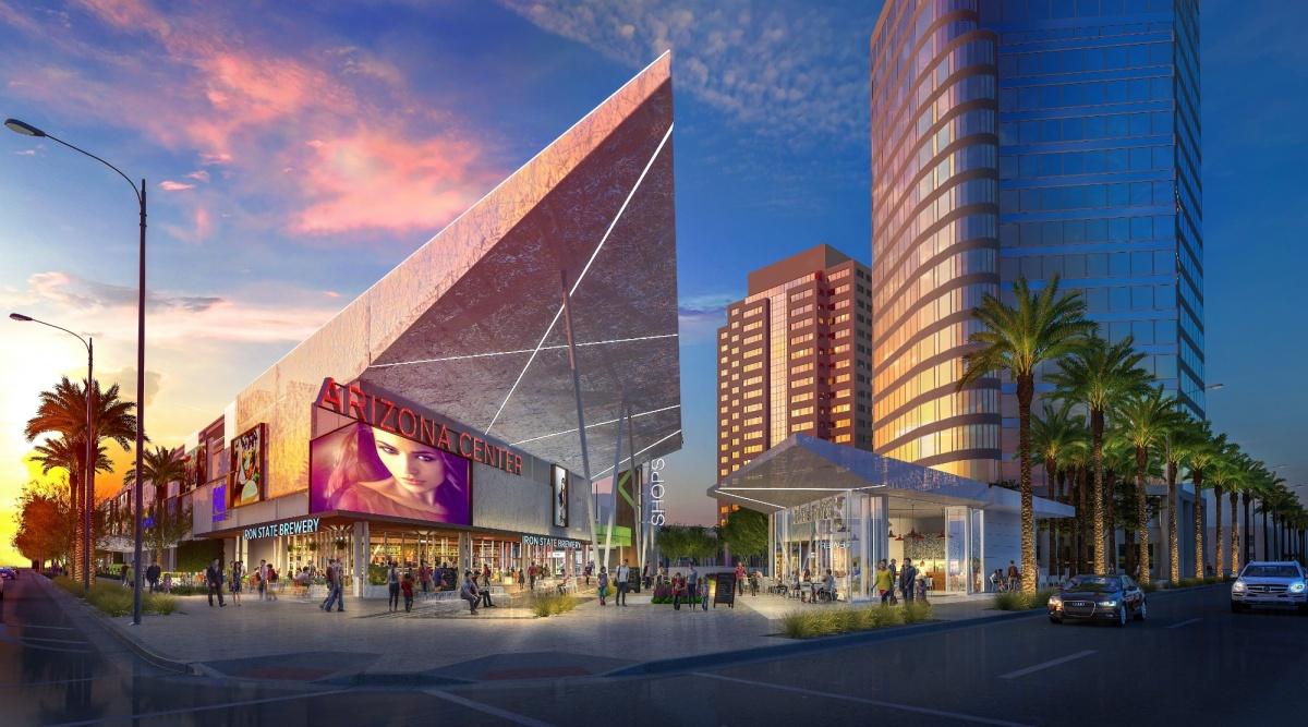 Arizona Center rendering.
