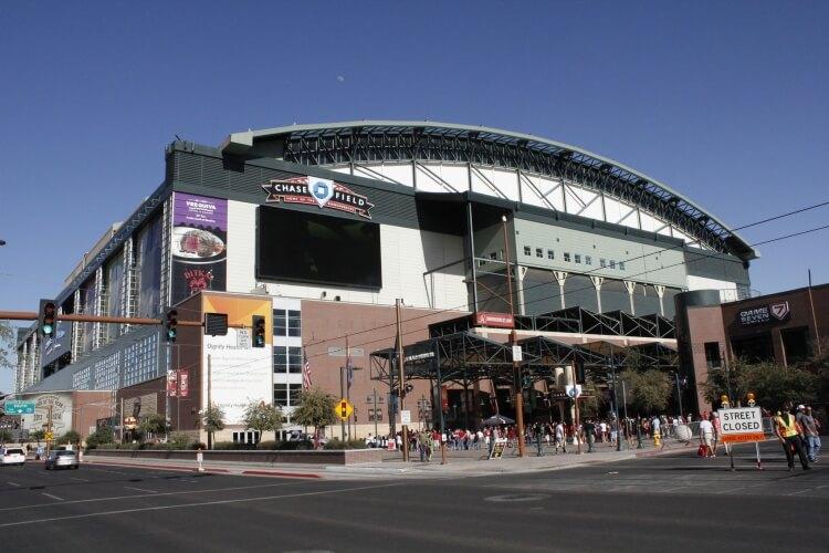 Chase Field, home of the Arizona Diamondbacks. Photo courtesy of CBRE.