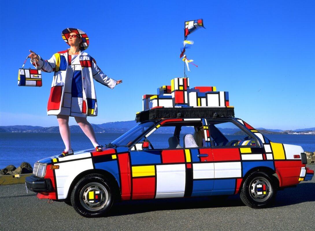"Emily Duffy's ""Mondrian Mobile"""