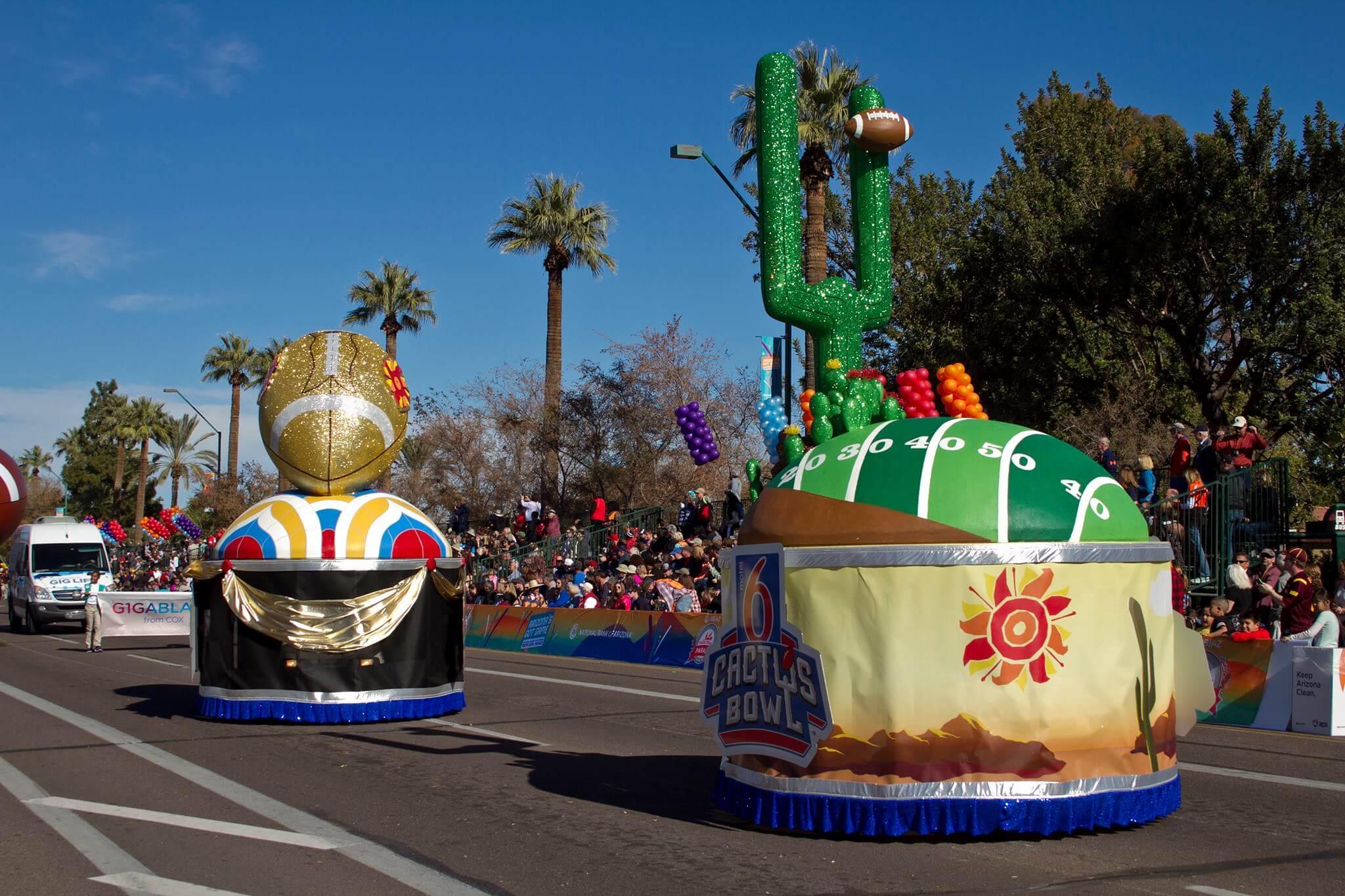 Courtesy NB|AZ Fiesta Bowl Parade.