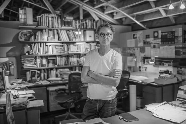 Architect Mark Ryan. Photo by Kyle Alexander.