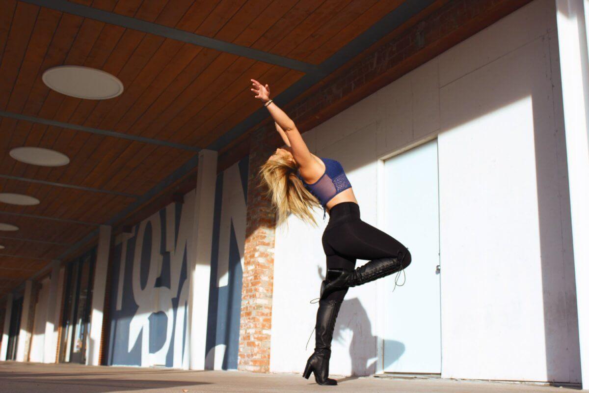 Dancer Alexandra Large. Photo by Ashley Baker.