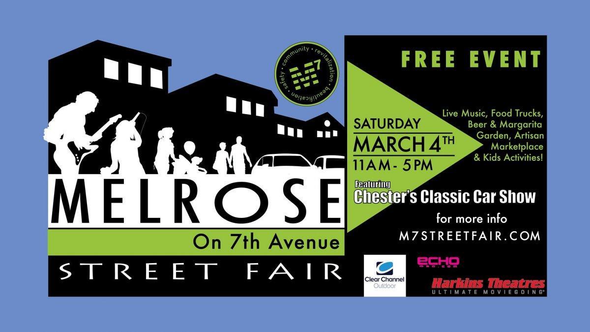 Melrose Fest flyer
