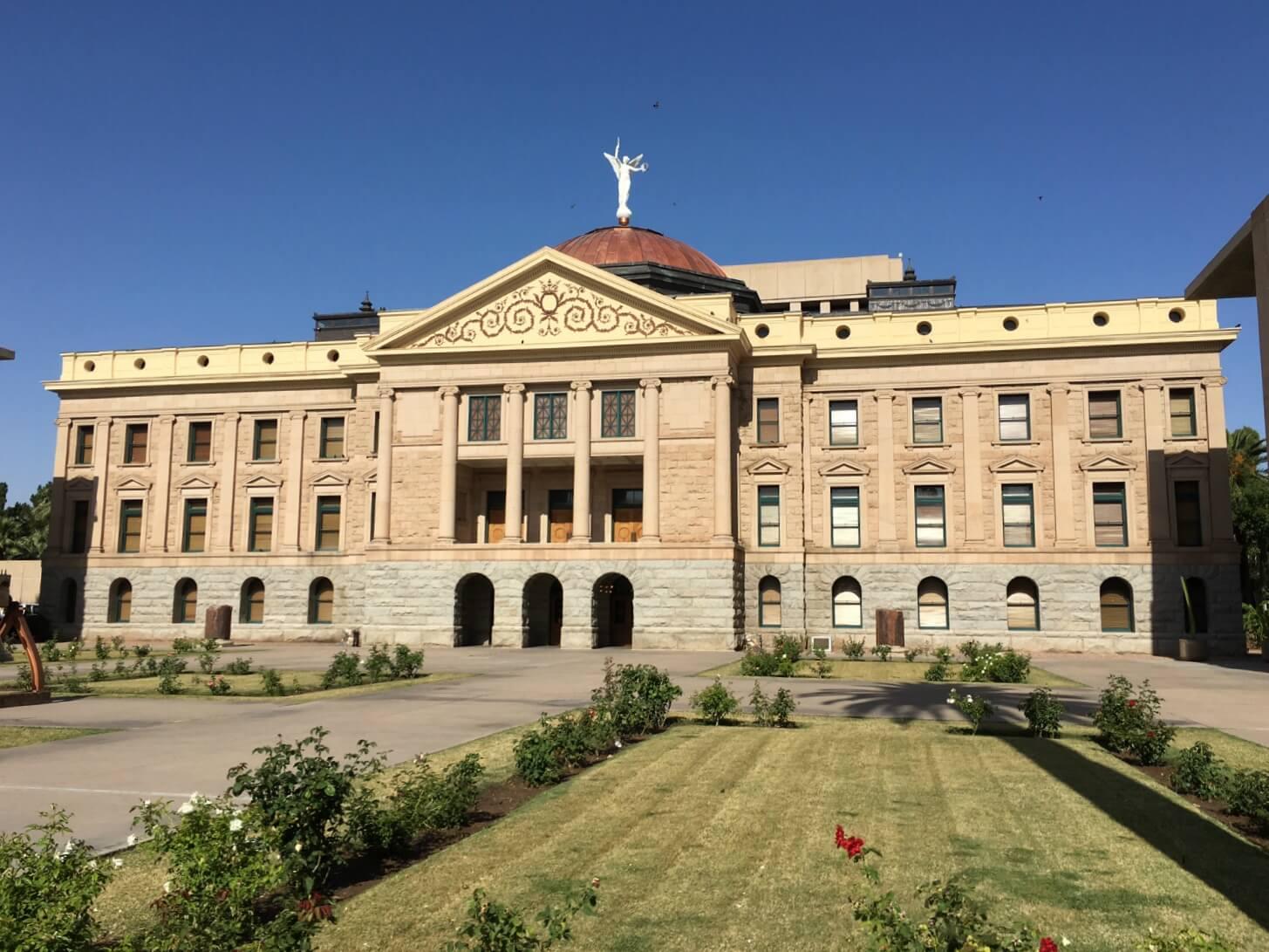 AZ Capitol Outside