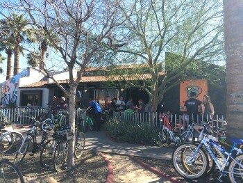 Bicycle Nomad Cafe and The Velo bike shop. Photo by Courtney McCune.