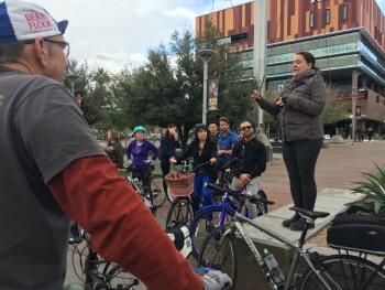 Lisa Parks, co-founder Phoenix Spokes People.