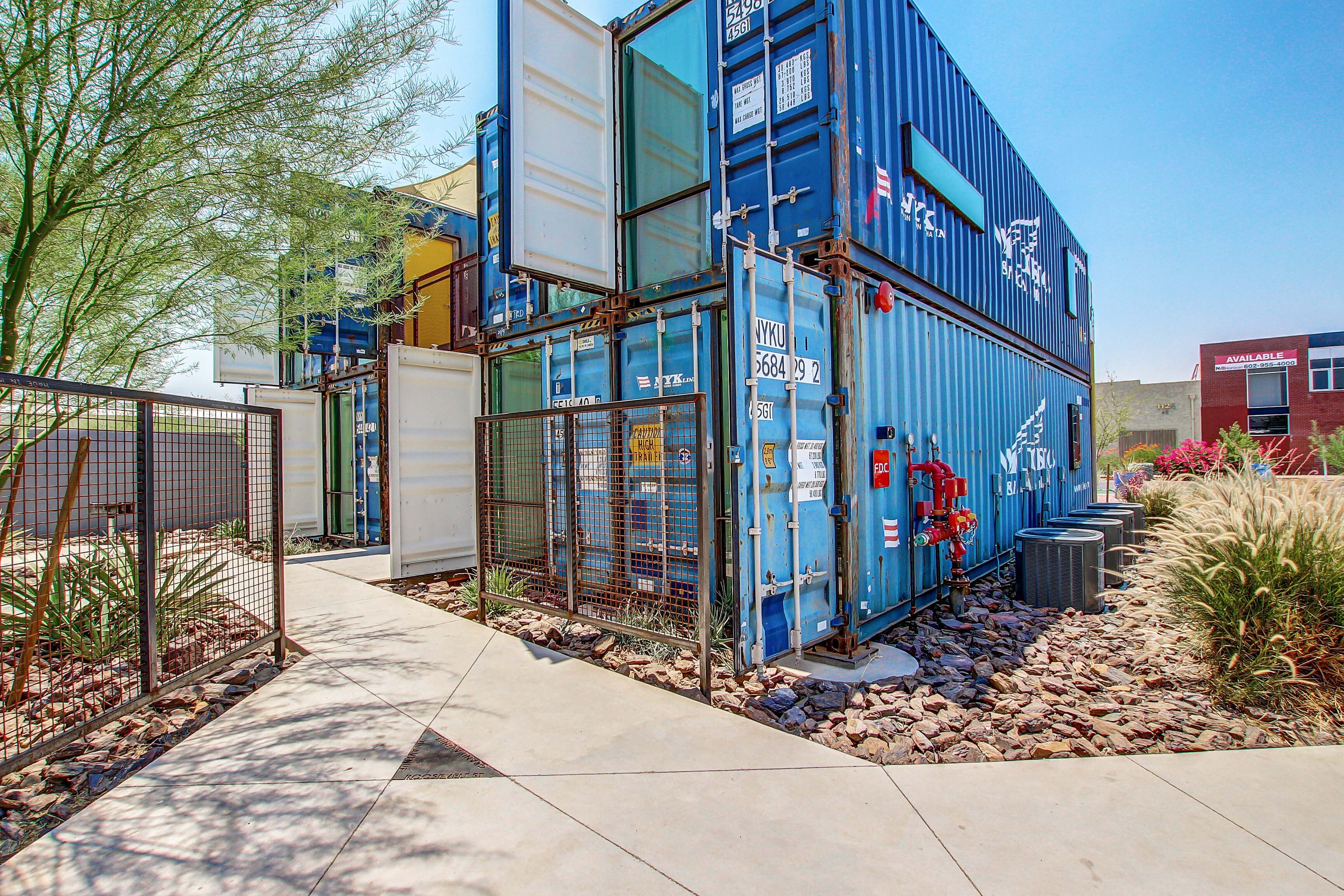 Containers On Grand Apartment Community For Sale