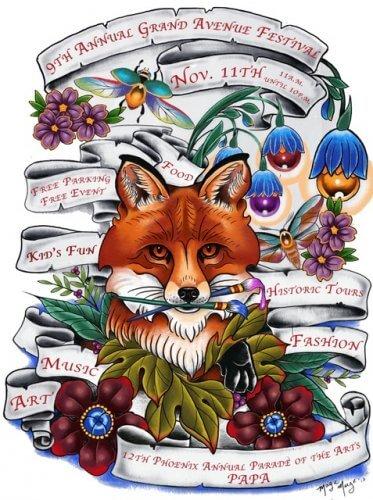 Grand Avenue Festival Flyer