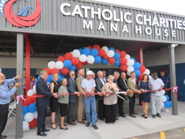MANA House grand opening