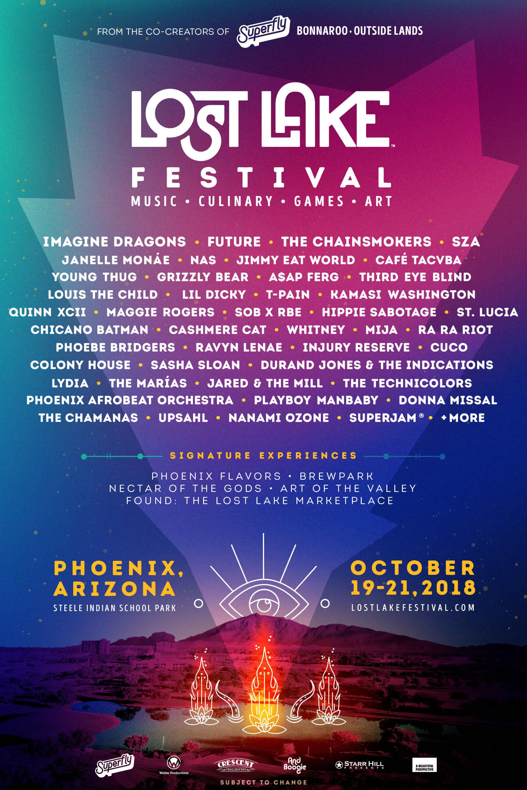 Lost Lake Festival lineup