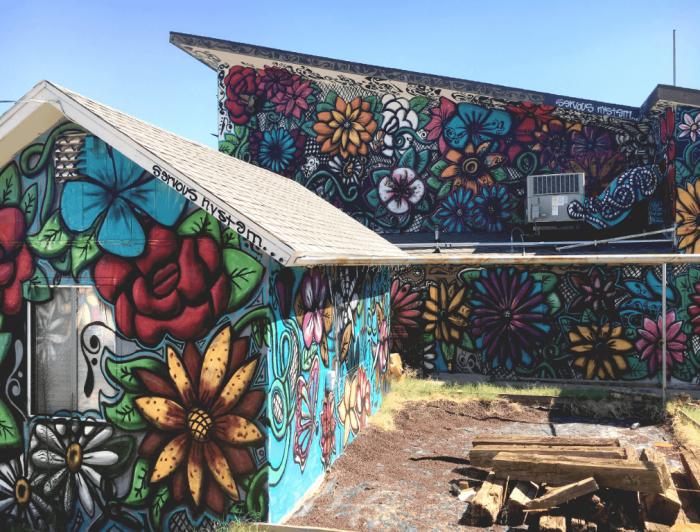 Mural by Carlos Rivas. Phoenix Mural Festival