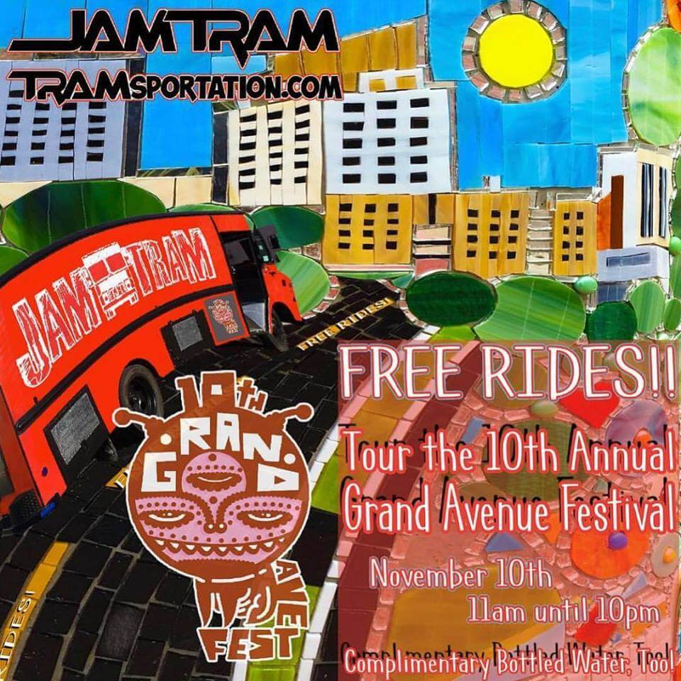 Jam Tram at Grand Avenue Festival