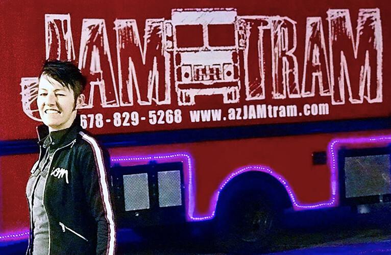 Sara Groves of Jam Tram