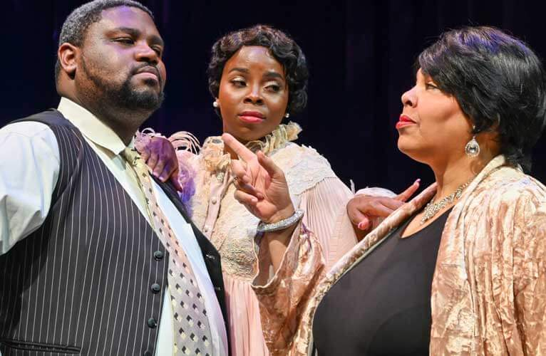 Black Theatre Troupe's Blues in the Night, Photo by Laura Durant.