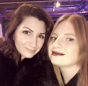 Rebecca Clark Borup and Laura Garwasiuk